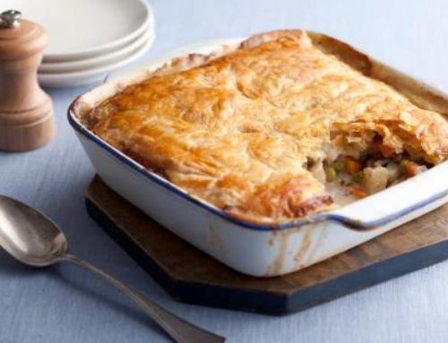 Seasonal Recipe: Vegetarian Pot Pie