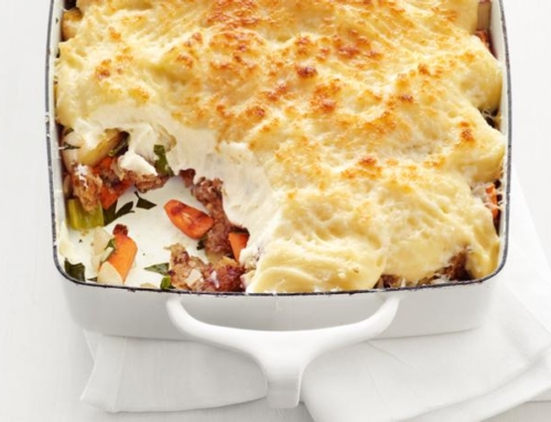 Seasonal Recipe: Vegetable Shepherd's Pie
