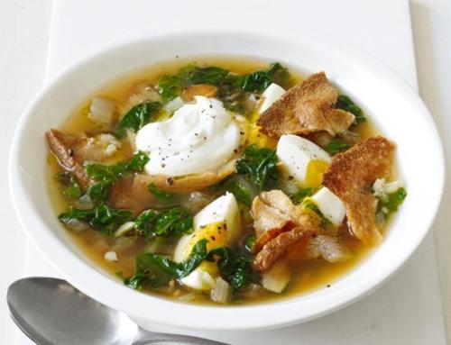 Seasonal Recipe: Spicy Chard Soup