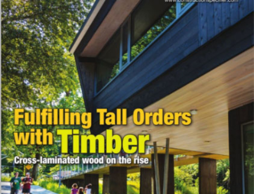 The Construction Specifier: Cross-laminated Timber