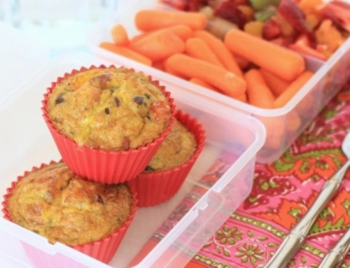Seasonal Recipes: Quinoa Pizza Egg Muffins