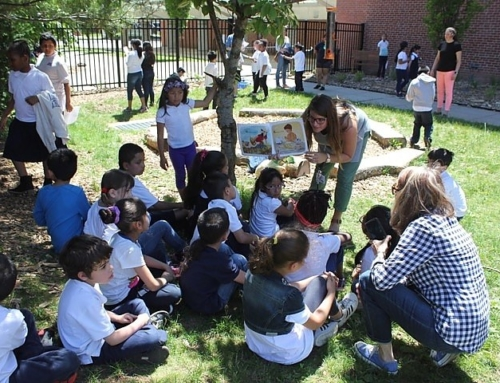 New Haven Independent: Fair Haven School Unveils Schoolyard Habitat