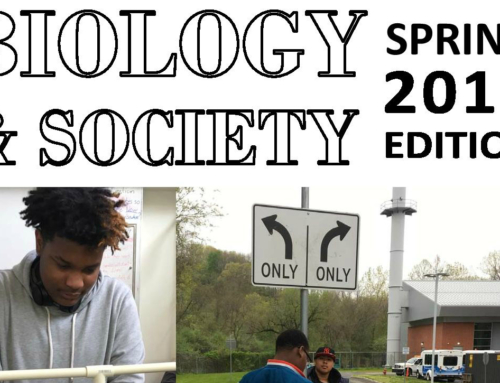 Student Work: Biology & Society, Spring 2017